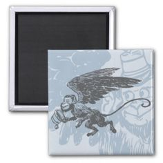 Flying Monkeys Fairy Tale Fantasy Creature Refrigerator Magnets