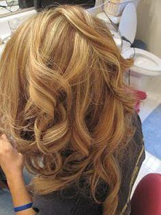 Fresh Hazel Blonde Hair Color