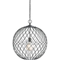 Hoyne Pendant Light in Pendant Lighting | Crate and Barrel