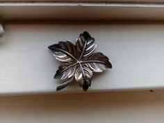 1950's broche, 830 silver