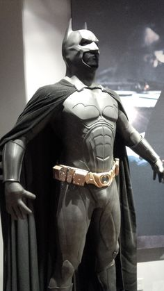 Batman Begins Costume - Warner Bros. Studio Tour