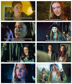 When the universe tells Amelia Pond she can't keep Rory Williams, Amelia Pond tells the universe to go hang.