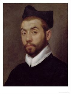 Portrait Of A Man, presumed to be Clément Marot, by Giovanni Battista Moroni