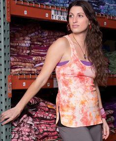 Organic T-Back Tie-Dye Tank