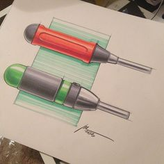 inspiring design sketch: successful vignette and highlights for skurre