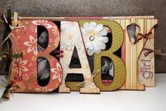 Crafty Scrapper: Bo Bunny BABY Word Album