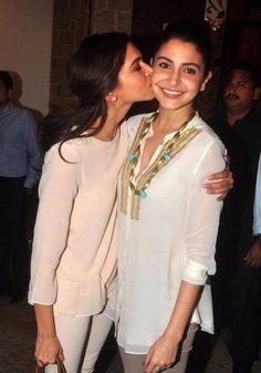 #Zovi  B-town's newest besties? Who do you prefer—Anushka Sharma or Deepika Padukone?