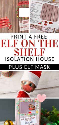 Christmas Activities, Christmas Traditions, Elf On Shelf Printables, Holiday Crafts, Holiday Fun, Bad Elf, Awesome Elf On The Shelf Ideas, Kindness Elves, Elf On The Self
