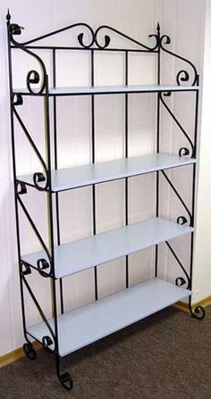 Varieties of Wrought Iron Doors for Your Properties - Decor And Home Iron Furniture, Steel Furniture, Furniture Design, Plywood Furniture, Repurposed Furniture, Unique Furniture, Furniture Makeover, Vintage Furniture, Painted Furniture