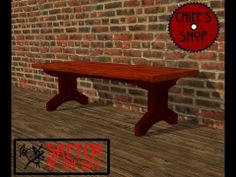 Chief's Shop Sketch of the Day: Station Bench - YouTube