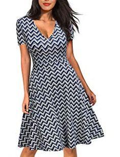 1c2775497d REPHYLLIS Women s 2 3 Sleeve Zip Busniess Bodycon Pencil Dress Vintage  Ladies