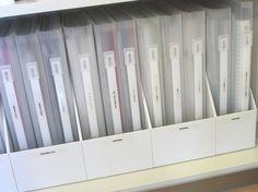 これはすっきり&シンプル!無印ファイル&ボックスが大活躍、取扱説明書の収納 | iemo[イエモ]