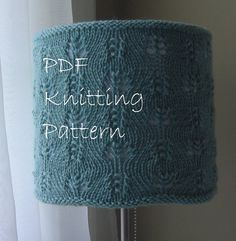 Knitting Pattern PDF  Gentle Swirls Lace by lavenderhillknits