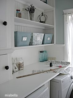 I see this as a craft area/desk in my dream house.