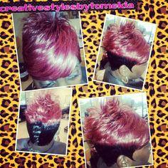 Salon Ramsey Atl ..Contact Mekia @678-379-8587....follow me on instragram @creativestylesbytomekia