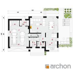 Dom w orliczkach 2 Floor Plans, Floor Plan Drawing, House Floor Plans