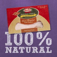 100% natural deli meats. Perfect for #sandwiches, #snacks, #wraps, and more!