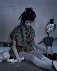 Audrey Marnay by Tim Walker http://www.timwalkerphotography.com/recent_work.php?offset=13