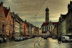 Augsburg, Bayern, Deutschland