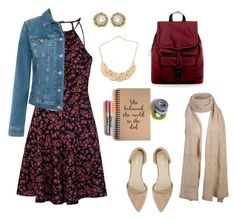 """""""From university to work outfit"""" by paula-marques-1 on Polyvore featuring moda, Glamorous, Tommy Hilfiger, Kendra Scott, Rebecca Minkoff e Nly Shoes"""