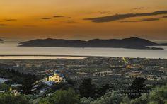 by George Papapostolou on Zia village Kos Great Photos, Kos, Greece, River, Celestial, Mountains, Sunset, Nature, Outdoor