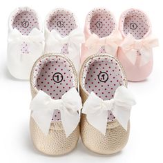 Mother & Kids 2019 New Style Spring Autumn Baby Girls Shoes Kids Soft Sole Anti-slippolka Dot First Walkers Casual Walking Crib Shoes Baby Shoes