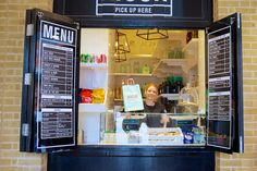 Holes in the wall: the new food revolution is being served through a hatch