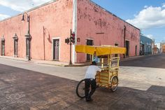Popular on 500px : Pushing cart by sukchookim