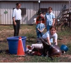 Games in the Riding Lesson Plan -- Makes learning to ride more fun at any age.