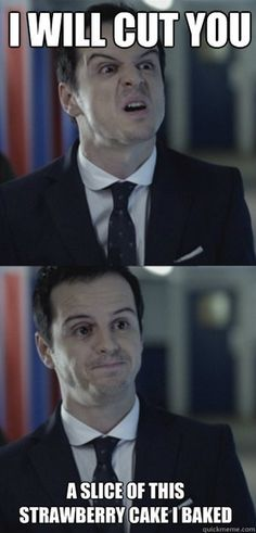 Moriarty is such a nice psychopath-e