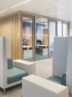 NUON nieuwAmsterdam interieur kantoor Heyligers 20 NUONs Amsterdam Headquarters / HEYLIGERS d+p