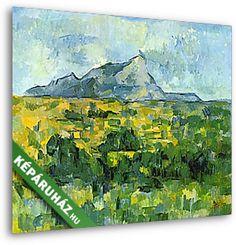 KÉPÁRUHÁZ.HU : A Sainte- Victoire hegy (Paul Cézanne) c. festmény reprodukció VÁSZONKÉP rendelése, vásárlása