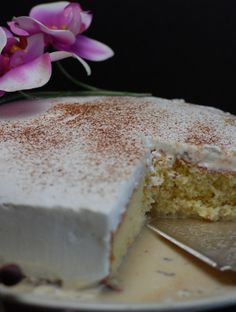 Costa Rica Tres Leches their national dessert learn about the culture and get the recipe at http;//www.internationalcuisine.com