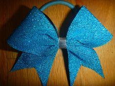 mini cheer bow