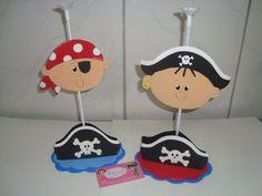 Centro de mesa Piratas