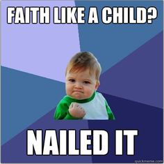 faith like a child