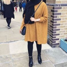 Casual brownish outfits with hijab – Just Trendy Girls