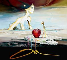Fly with me   Ora Tamir ~ Israeli Surreal Futuristic painter   TuttArt@   Pittura * Scultura * Poesia * Musica  