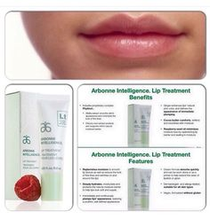 Lip treatment perfect for fall and winter! #arbonne #lips