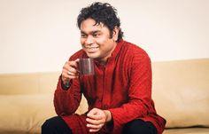 Oscar winner Rahman relaxing over a cup of coffee