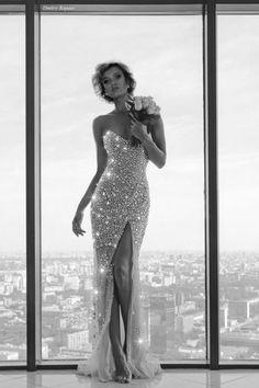 Sparkly dress #sexy