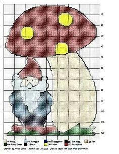 Gnome under mushroom WH