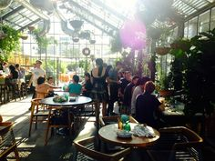 A Peek Inside Commissary, Roy Choi's Rooftop Restaurant And Greenhouse: LAist