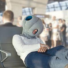 The Power Nap Head Pillow - Hammacher Schlemmer