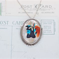 One of two awesome Zuni necklaces in the shop now! #southwesternjewelry #fergusonsfinejewelry