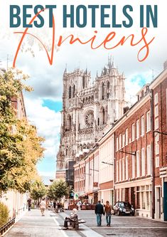 Are you looking for great hotels in Amiens for your trip to the Somme region in France? This article with the 10 best hotels in Amiens, France will help you to book a great hotel! France | City Trip | France travel | WW1 Trip | Travel in France