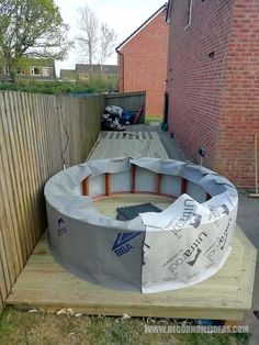 Hot Tub Surround, 12v Led Lights, Hot Tub Deck, Timber Fencing, Hot Tub Garden, Decking Ideas, Deck Decorating, Prefab, Architecture