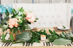 A romantic tablescape