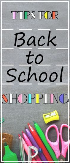 Tips for Back to School Shopping! Save even more money with BillCutterz.com!