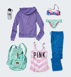 Beach weekend? Don't forget to pack #VSPINK! #MadeForSummer